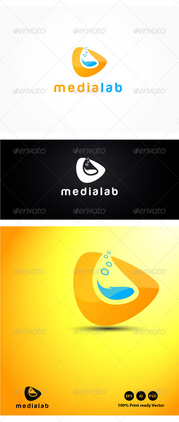 Media Lab Logo - Symbols Logo Templates