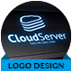Cloud Server Logo - GraphicRiver Item for Sale