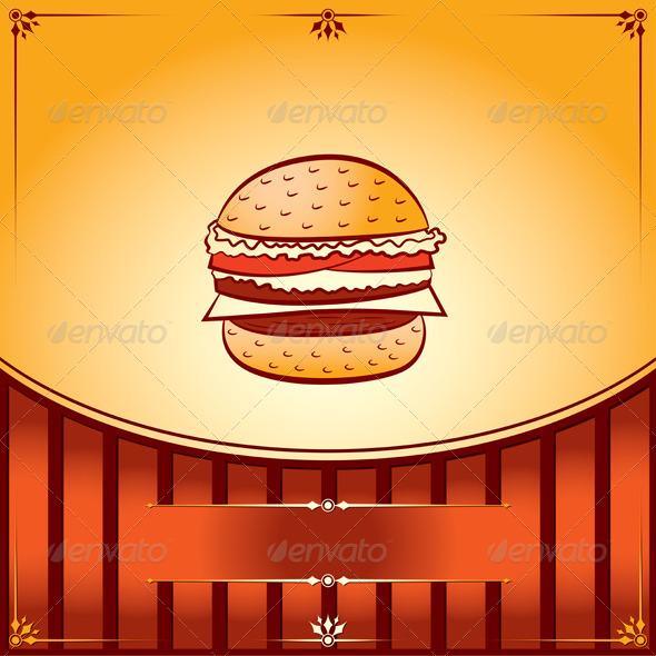 Hamburger - Food Objects