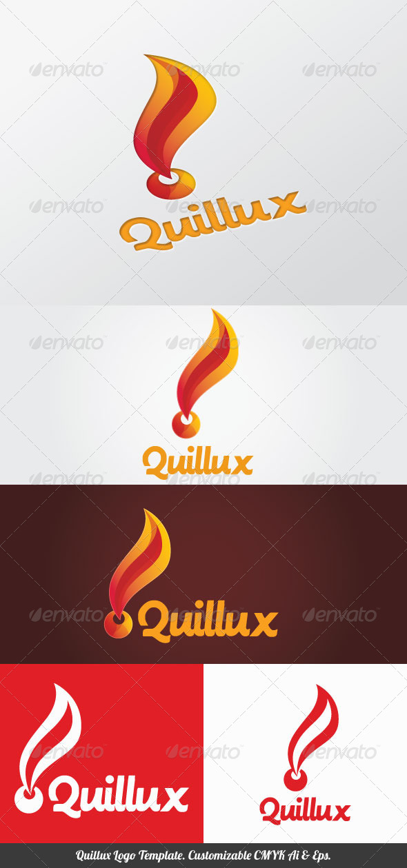 Quillux Logo Template - Objects Logo Templates