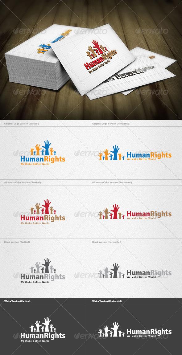 Human Rights Logo - Symbols Logo Templates