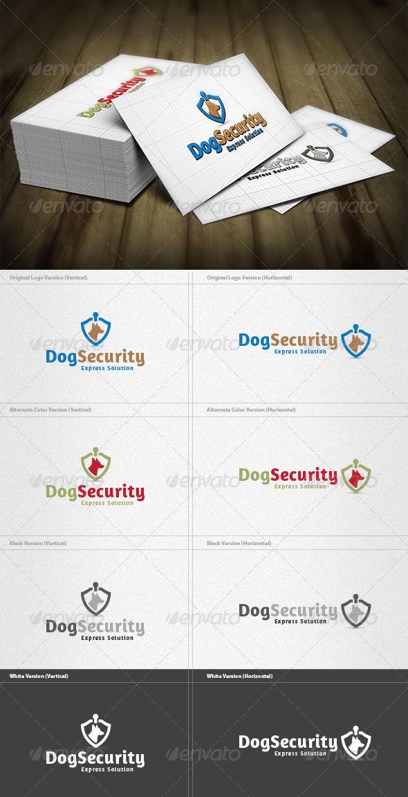 Dog Security Logo - Animals Logo Templates