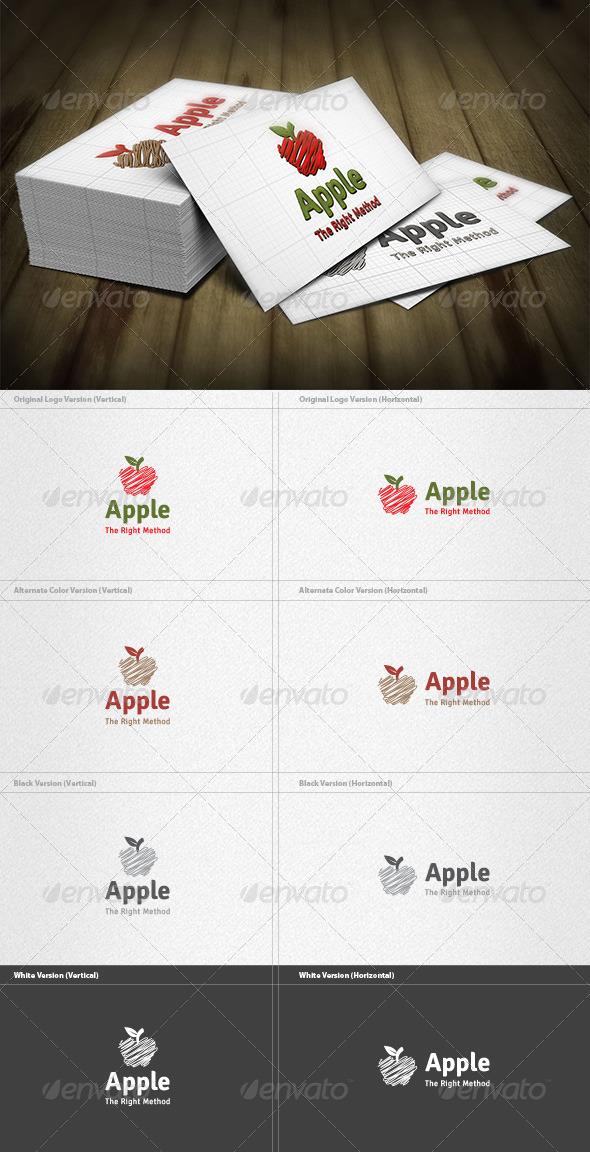 Apple Logo - Food Logo Templates