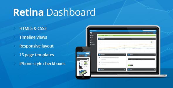 Retina Dashboard - Admin Templates Site Templates