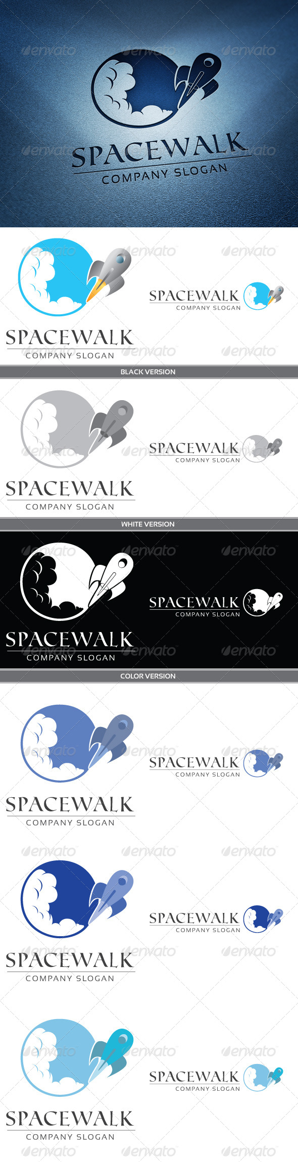 Spacewalk - Objects Logo Templates