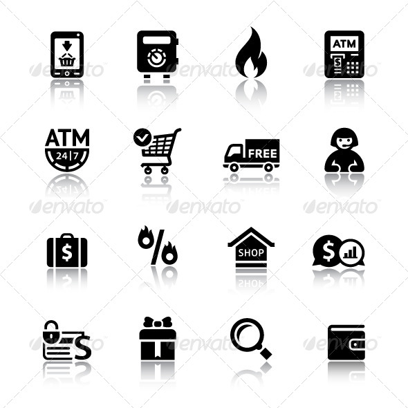 Shopping Icons - Business Icons