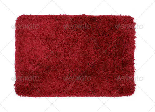 red mat - Stock Photo - Images