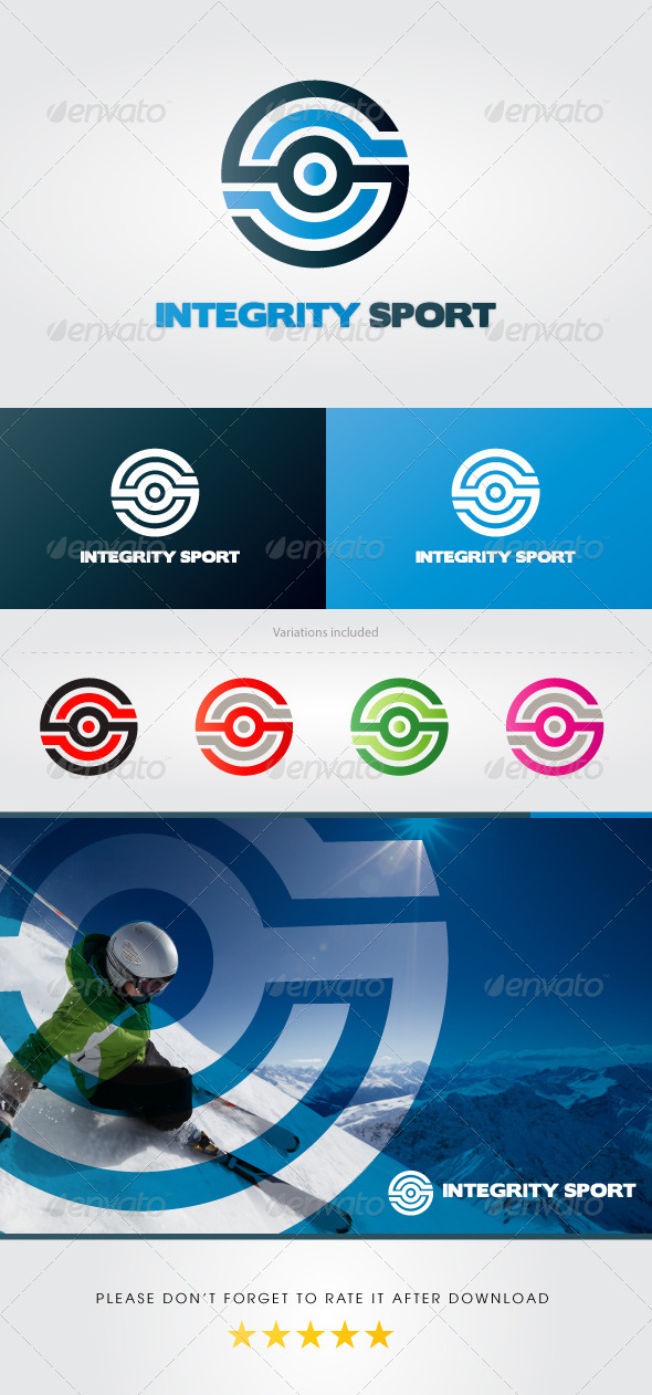 Integrity Sport Logo - Letters Logo Templates