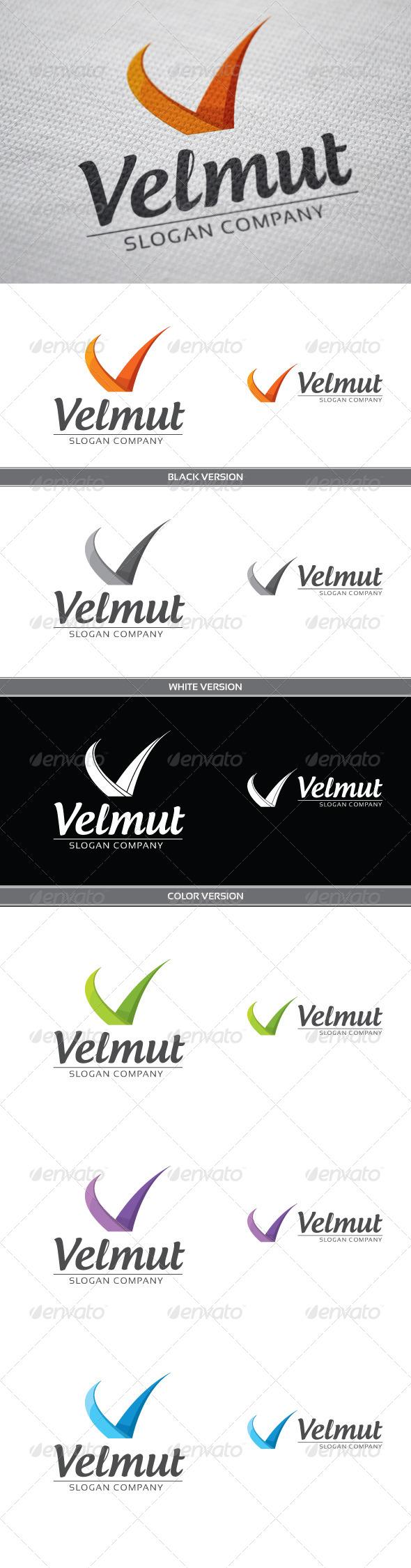 Velmut - Letters Logo Templates