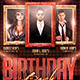 Multiple Birthday Bash Flyer Template - GraphicRiver Item for Sale
