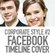 Facebook Cover Timeline Corporate Style No.2 - GraphicRiver Item for Sale