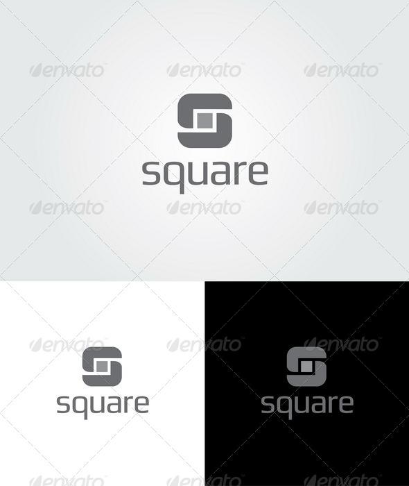 Square Logo Template - Letters Logo Templates