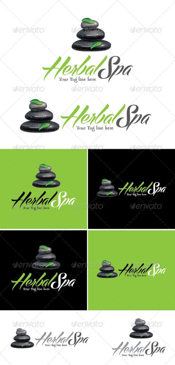 Herbal Spa Logo Template - Logo Templates