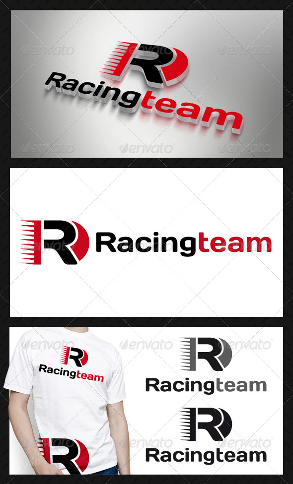 Racing Team Logo Template - Letters Logo Templates