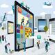 Building Digital Tablets Horizontal - GraphicRiver Item for Sale