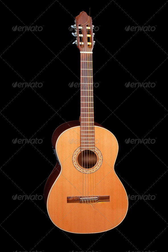 Acoustic classic - Stock Photo - Images