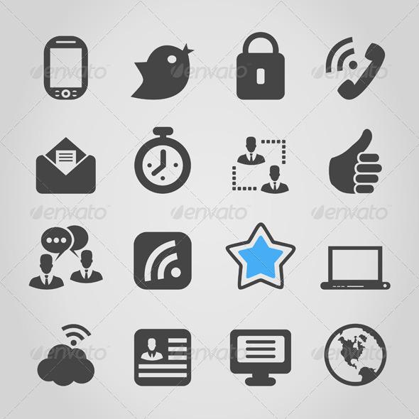 Icon for Web - Web Elements Vectors