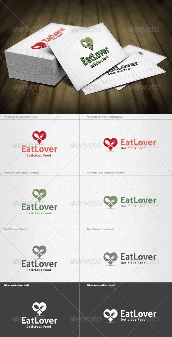 Eat Lover Logo - Food Logo Templates