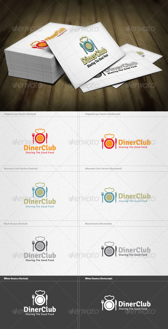 Diner Club Logo - Food Logo Templates