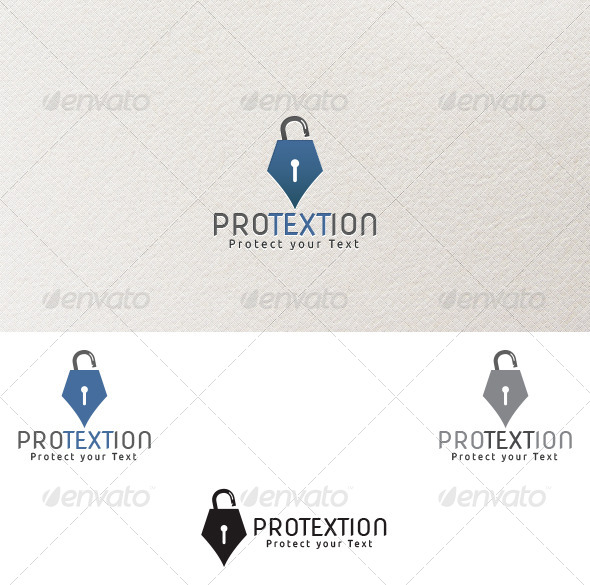 Protextion - Logo Template - Symbols Logo Templates