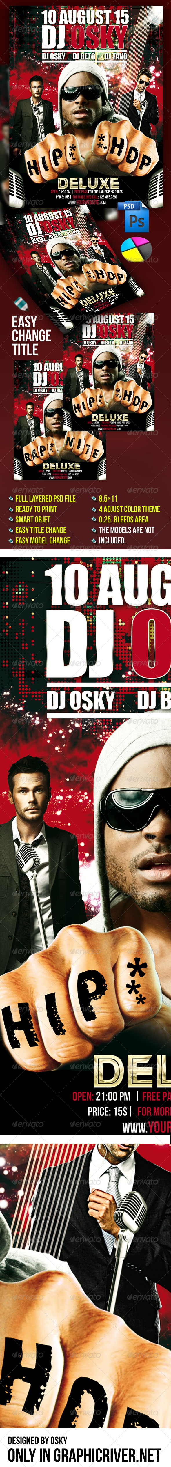Dj Event Flyer IV - Clubs & Parties Events