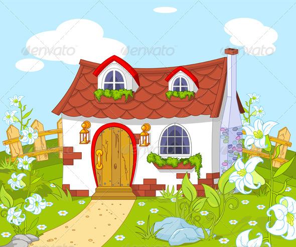Cute Little House  - Buildings Objects