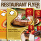 Restaurant Promo Flyer Vol.2 - GraphicRiver Item for Sale