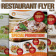 Restaurant Flyer Vol.4 - GraphicRiver Item for Sale