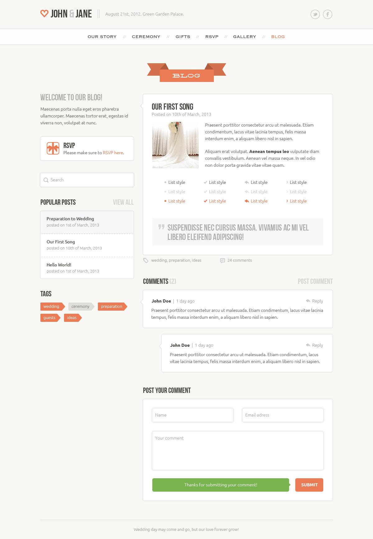 wedding creative psd template by bestwebsoft themeforest