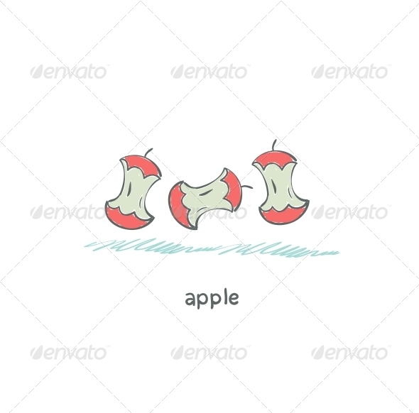 Apple Core - People Characters