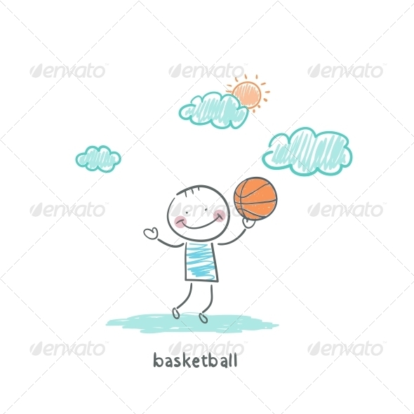 Basketball Player - People Characters