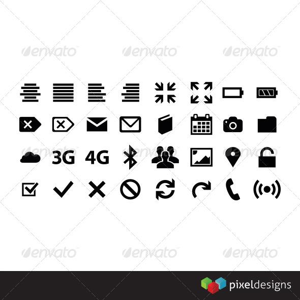 32 Metro style icon - Media Icons