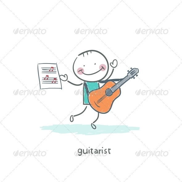 Gitarist - People Characters