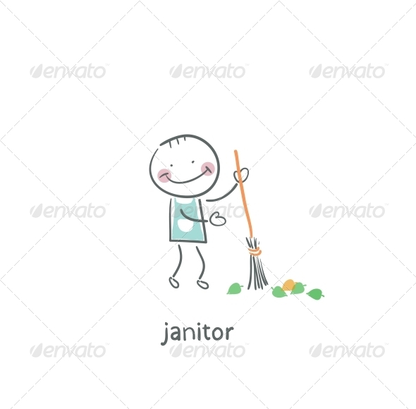 Janitor. - People Characters