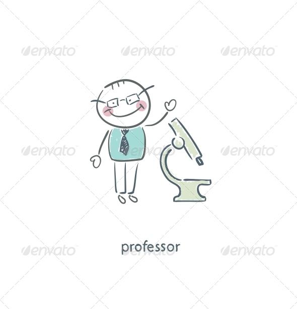 Professor. - People Characters