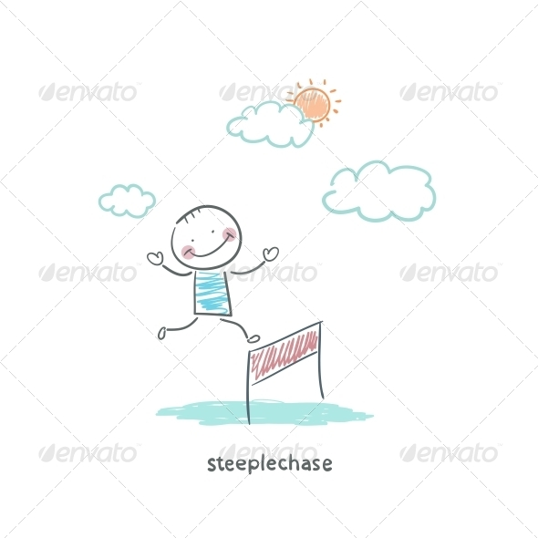 Steeplechase - People Characters
