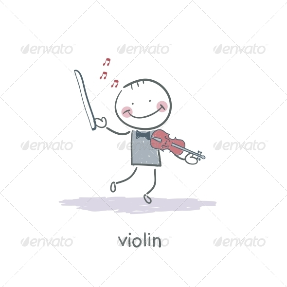 Violinist - People Characters