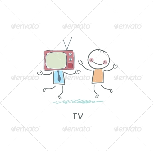 TV - Friend. - People Characters