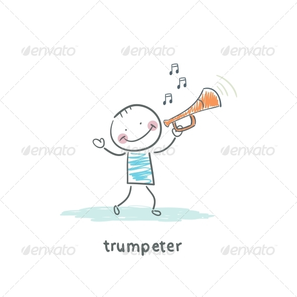 Trumpeter - People Characters