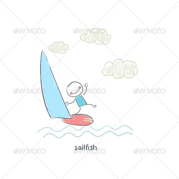 Yachtsman - People Characters