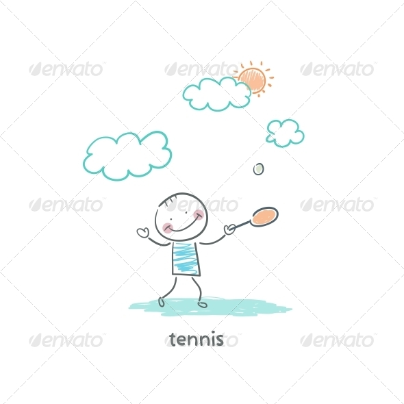 Tennis Player - People Characters
