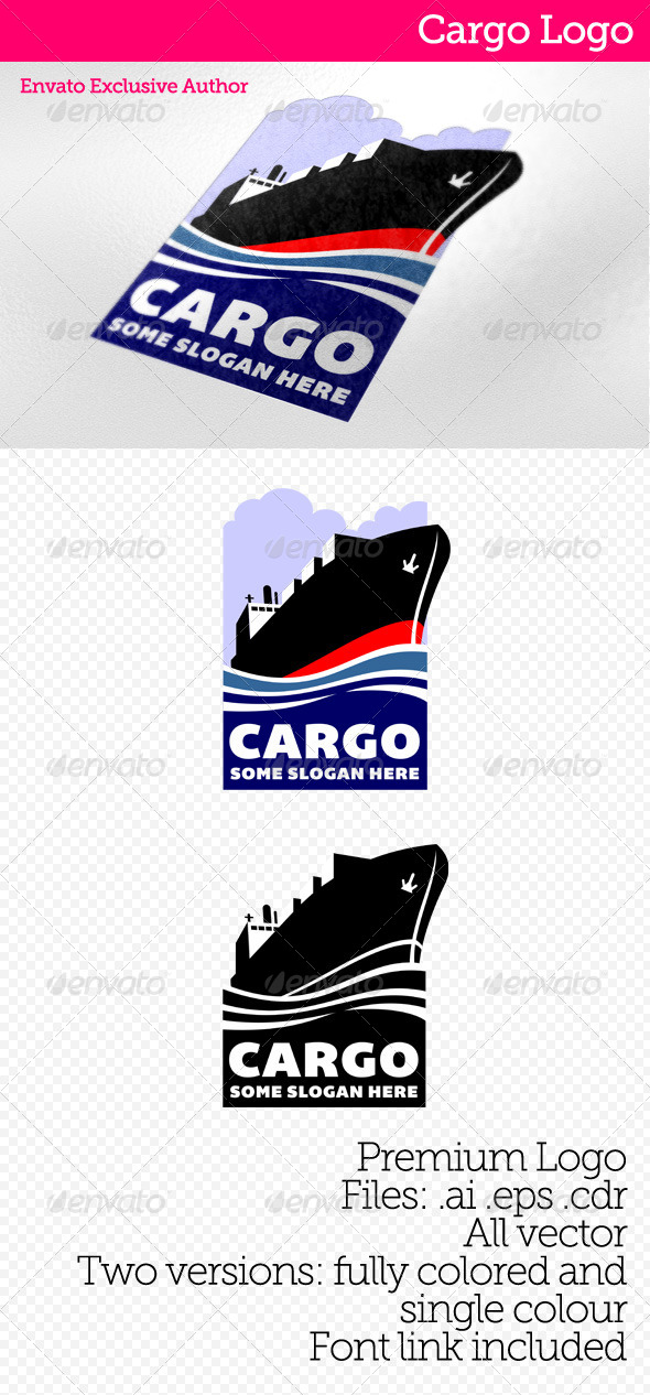 Cargo Logo - Objects Logo Templates