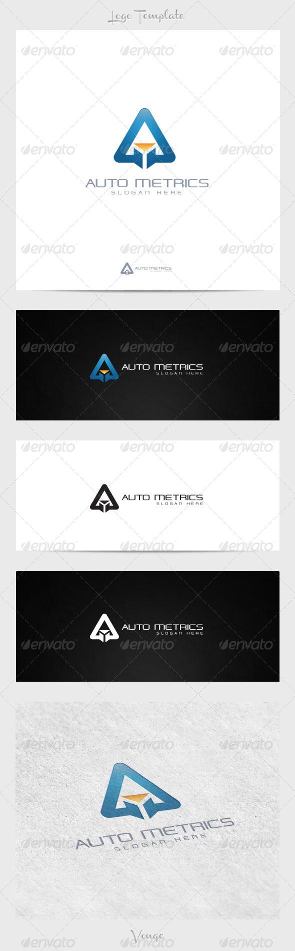 Auto Metric - Symbols Logo Templates