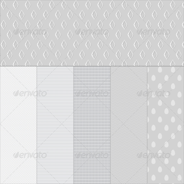 Set White Paper Textured Backgrounds - Backgrounds Decorative