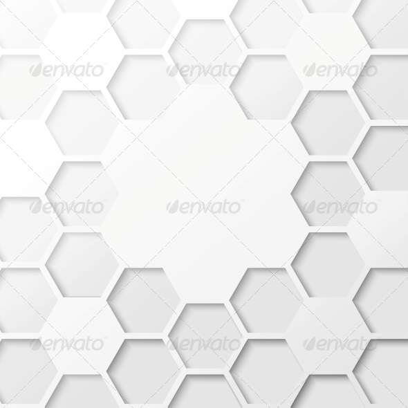 Abstract Hexagon Background by Kotkoa | GraphicRiver