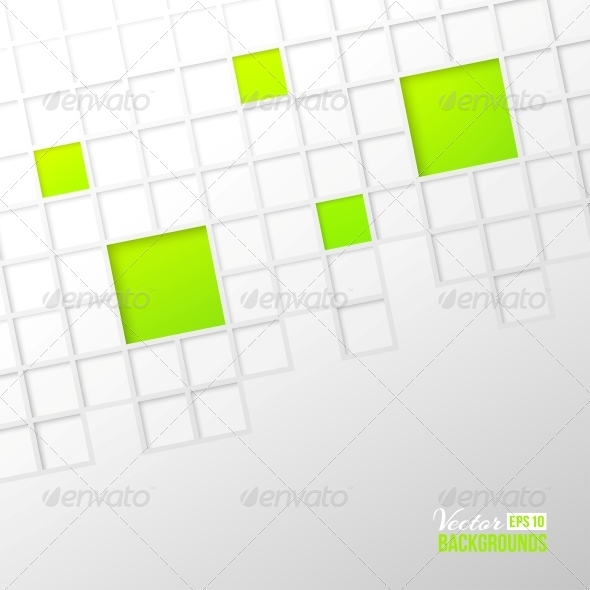Abstract Mosaic Background - Abstract Conceptual