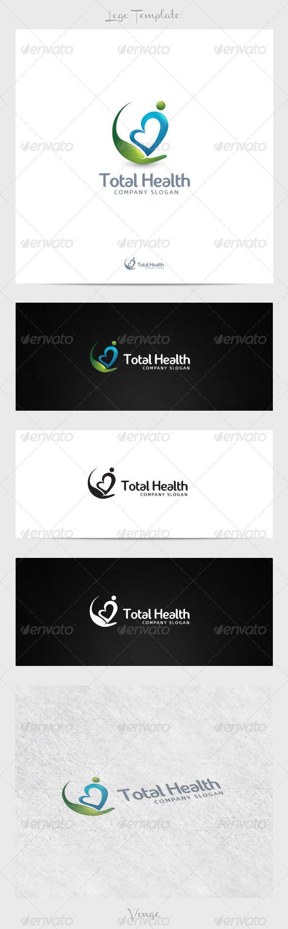 Total Health - Humans Logo Templates