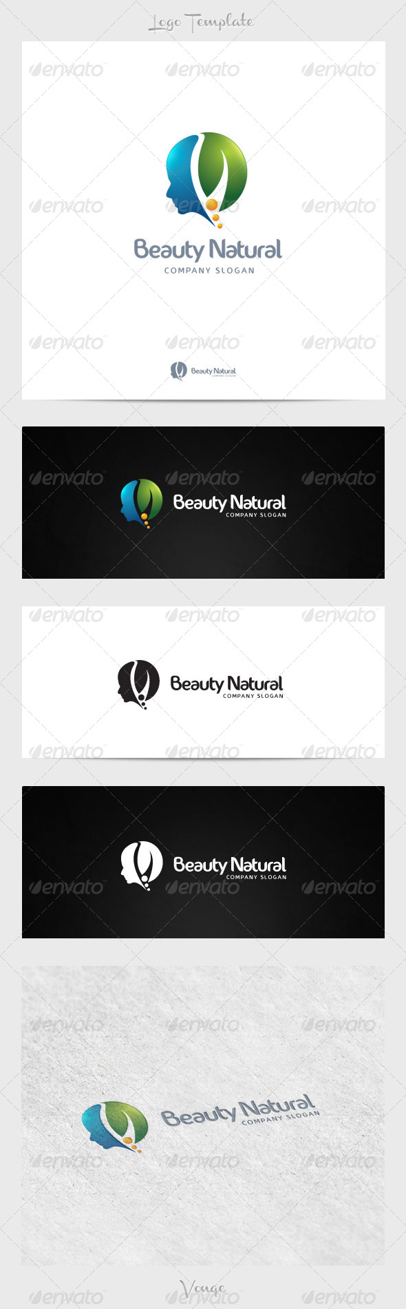 Beauty Natural - Nature Logo Templates