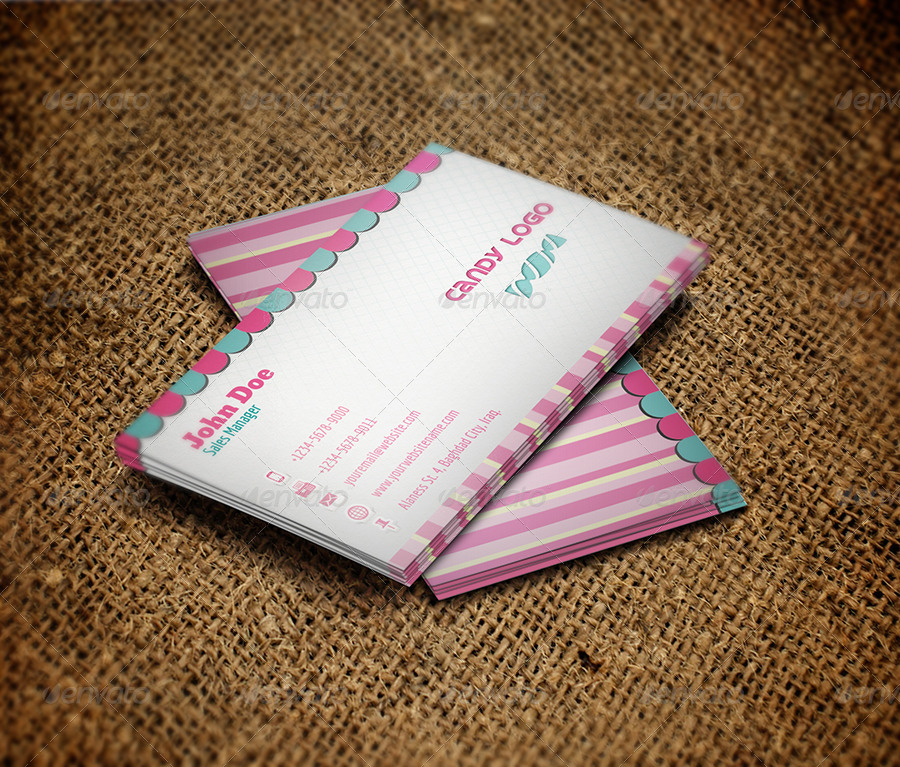 Candy Business Card By OWPictures