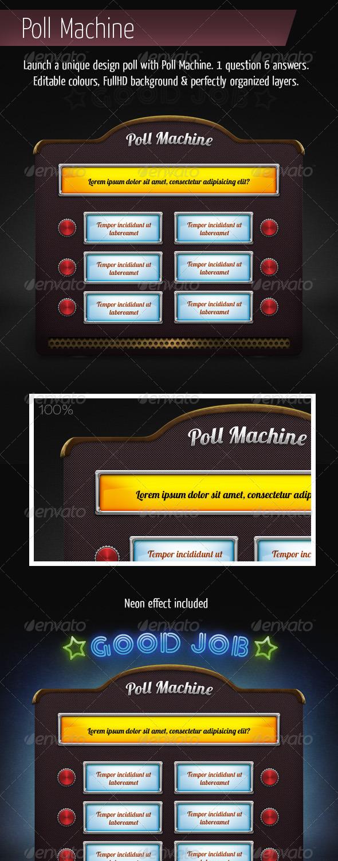 Poll Machine - Miscellaneous Illustrations